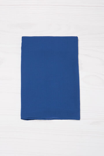 Solid colour lightweight scarf