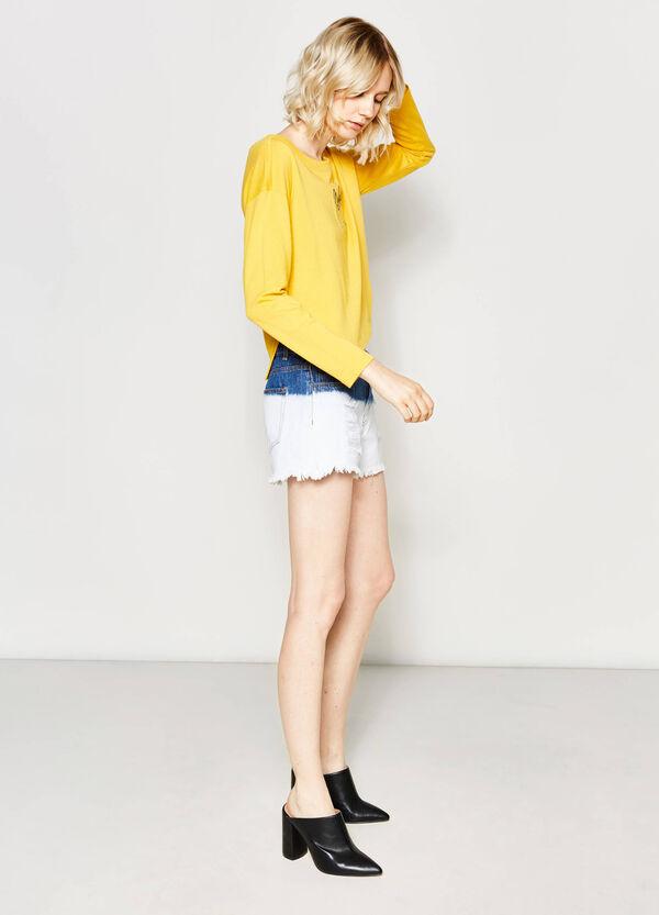 Shorts di jeans degradé | OVS