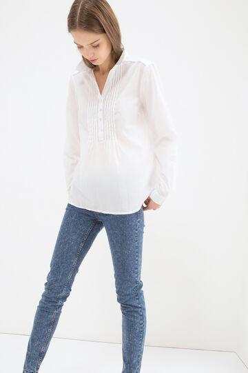 Solid colour 100% cotton shirt