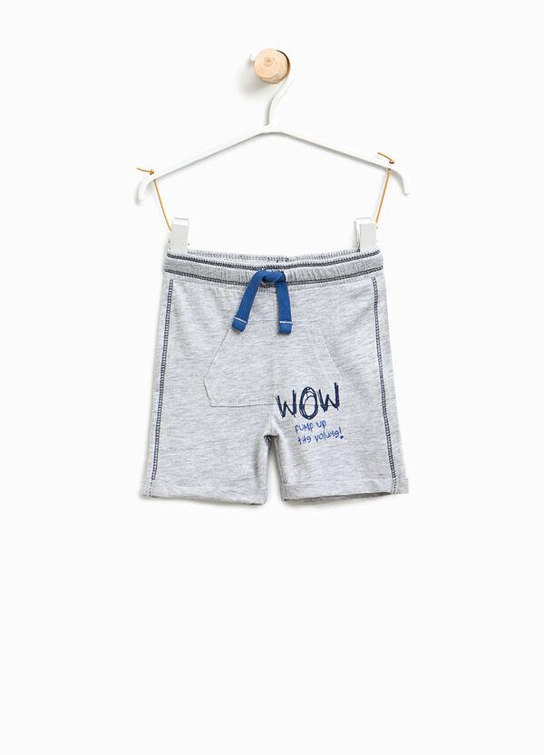 Pantaloncini in cotone e viscosa | OVS