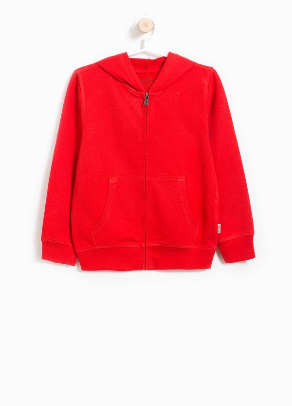 Soft cotton hoodie | OVS