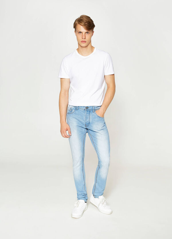 Loose-fit, washed-effect jeans | OVS