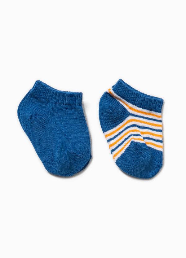 Set due paia di calze fantasia righe | OVS