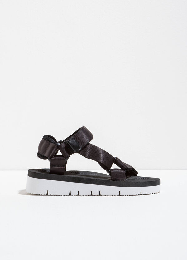 Strap sandals with Velcro | OVS