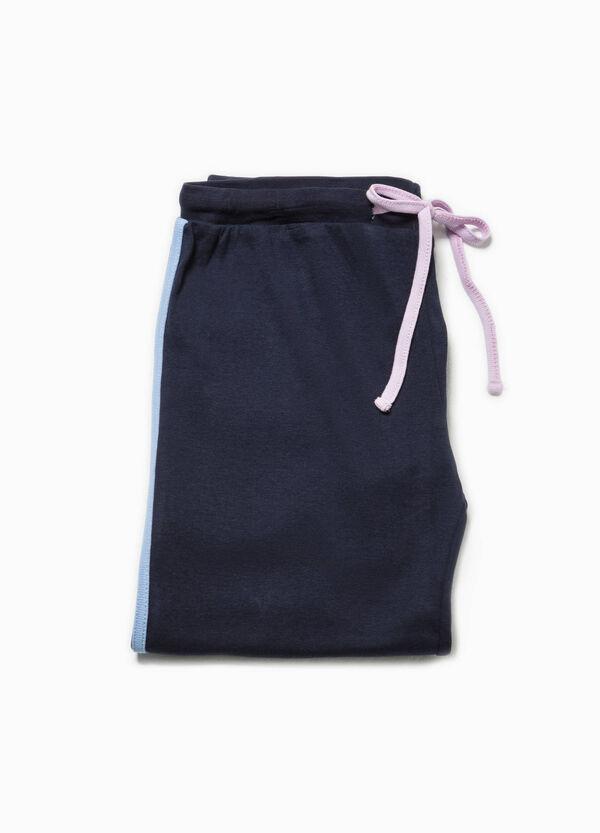 Pantaloni pigiama con bande a contrasto   OVS