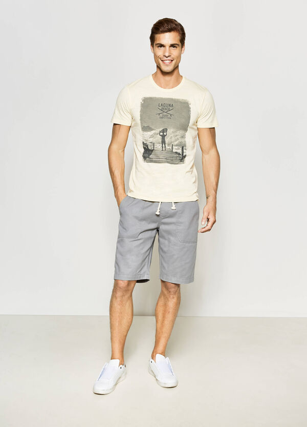 Bermuda regular fit con coulisse | OVS