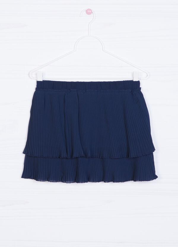 Pleated skirt with flounces | OVS
