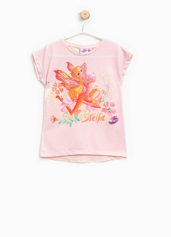 T-shirt with Winx print and diamantés | OVS