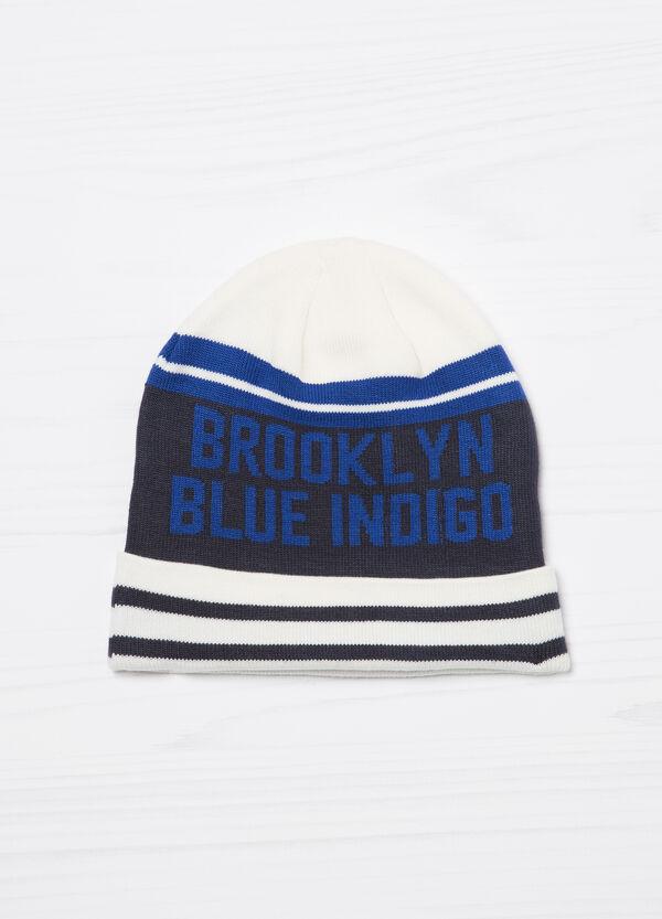 Cappello a cuffia stampato tricot | OVS