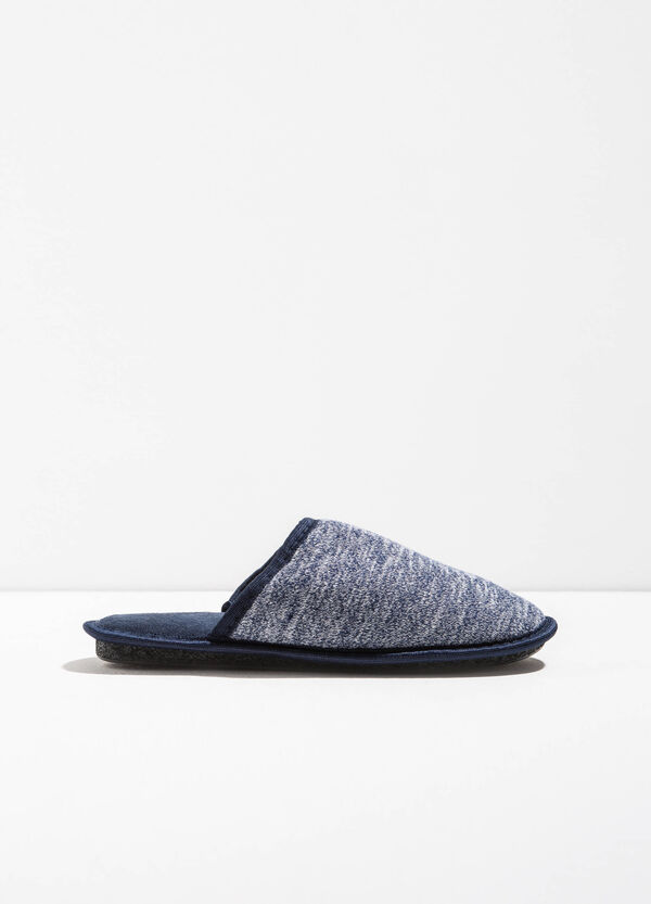 Mélange canvas slippers | OVS
