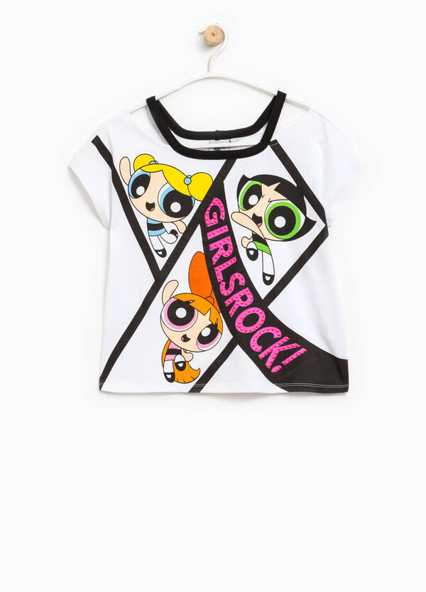 T-shirt con stampa The Powerpuff Girls | OVS