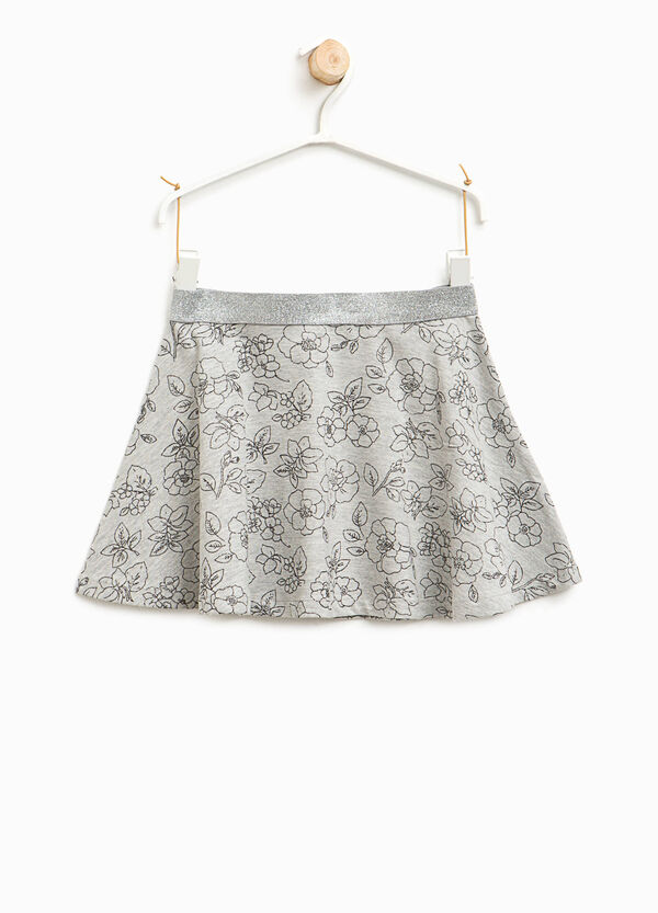 All-over floral print skirt | OVS