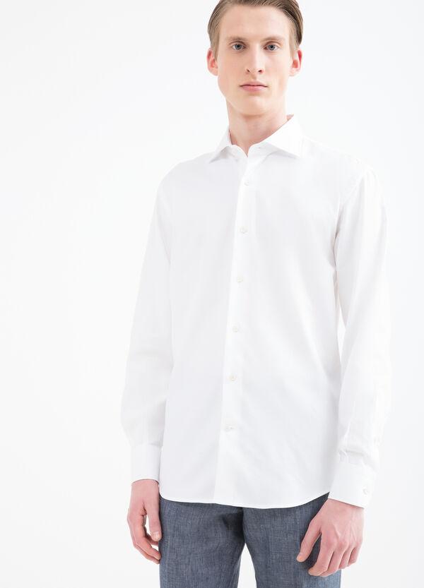 Solid colour regular-fit shirt | OVS