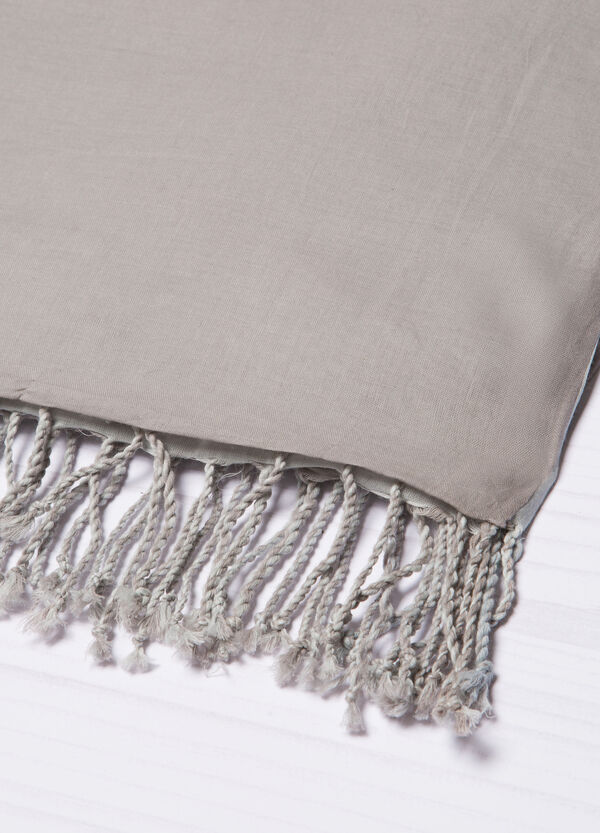 Sciarpa puro cotone bicolore | OVS