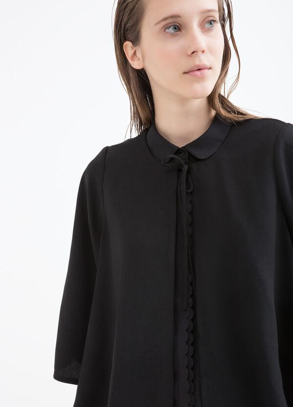 Jacket with three-quarter sleeves. | OVS