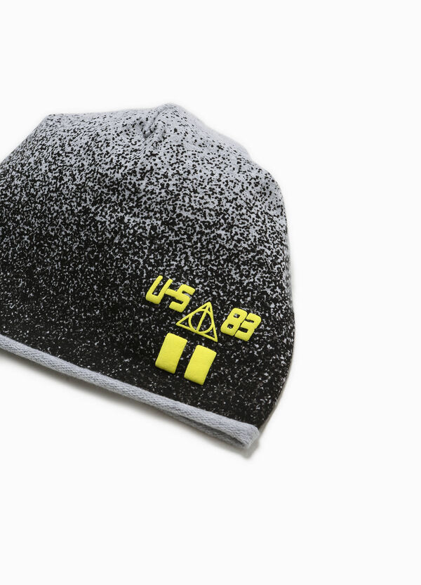Beanie cap with print and pattern | OVS