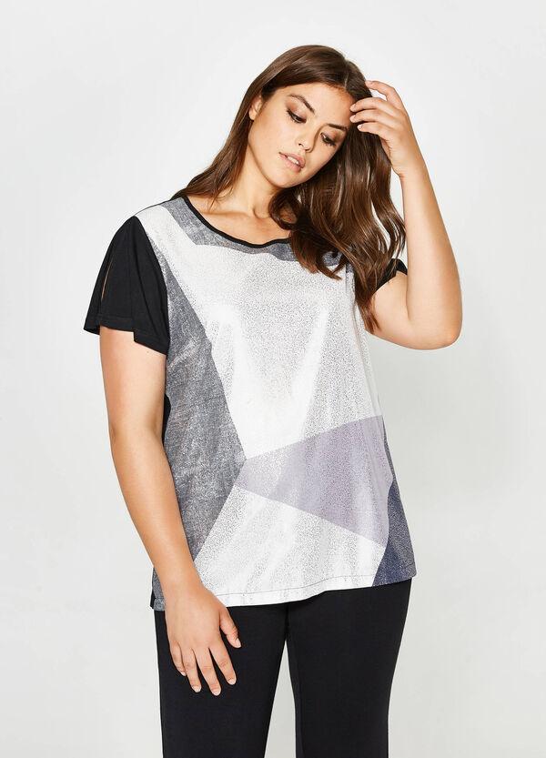 T-shirt con maxi stampa Curvy | OVS