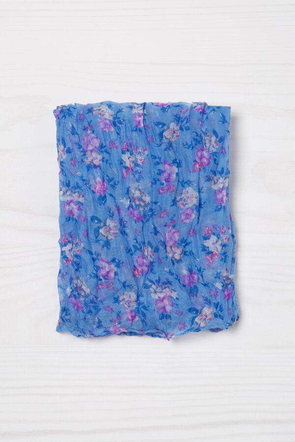 Sciarpa stampa floreale stropicciata | OVS