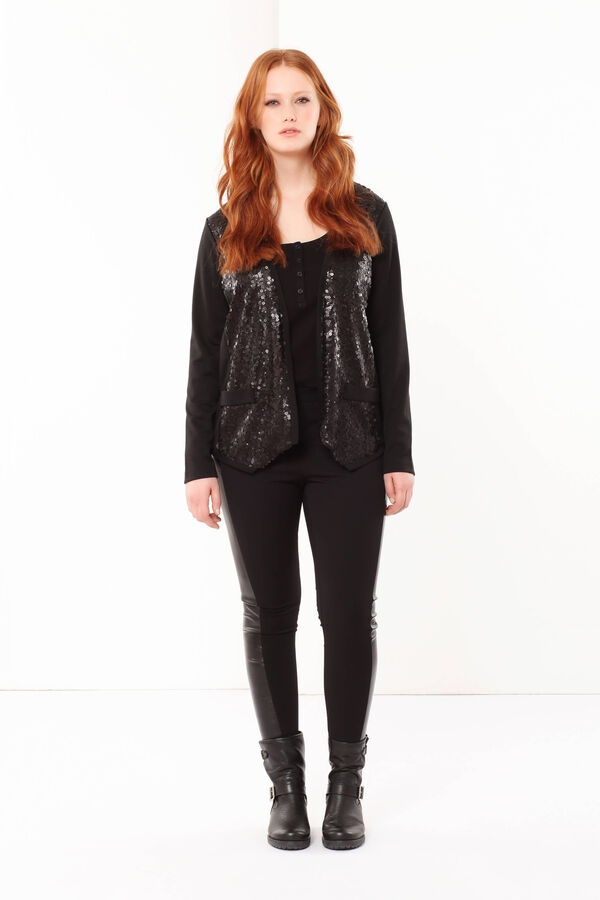 Curvyglam jacket with sequins | OVS
