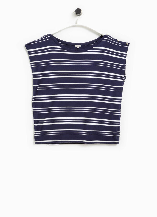 Camiseta Smart Basic de rayas | OVS