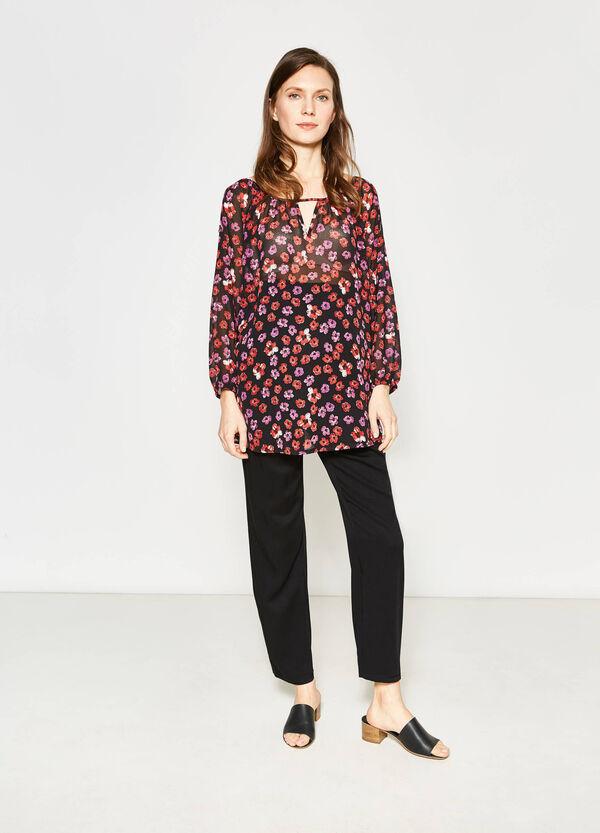 Pantaloni con pieghe MUM | OVS