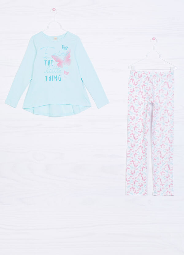 Printed cotton pyjamas | OVS