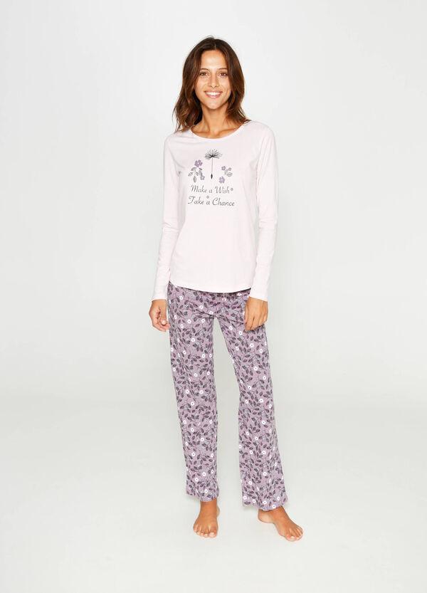 Floral cotton pyjamas | OVS