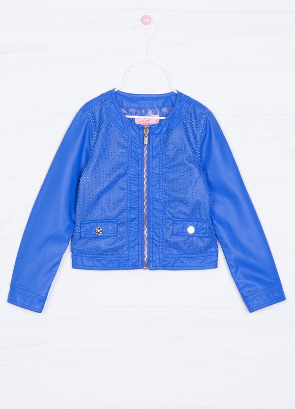 Solid colour viscose jacket. | OVS
