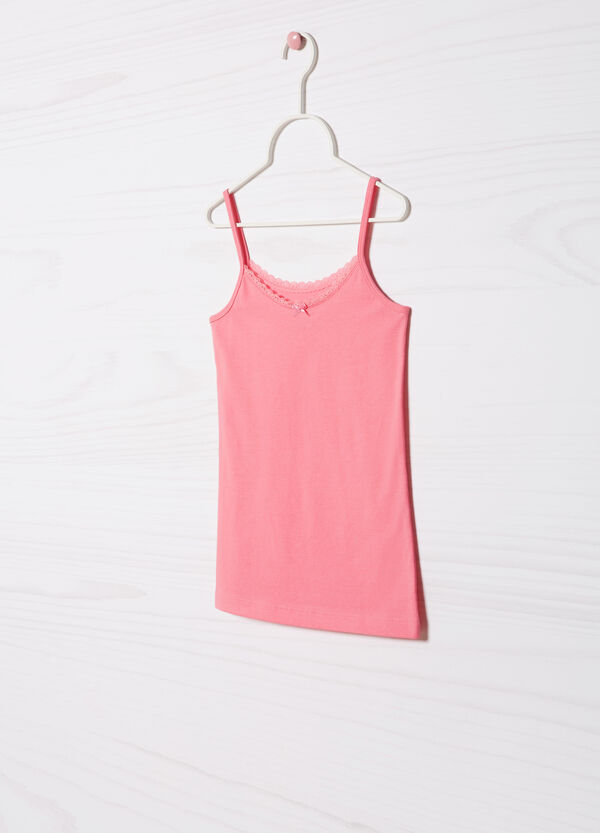 Stretch cotton vest | OVS