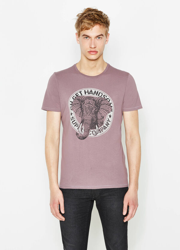 T-shirt in puro cotone con stampa G&H | OVS