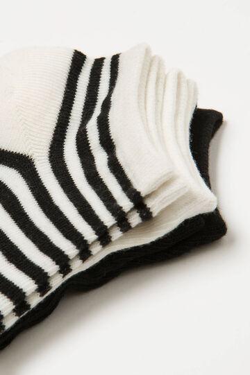 Set tre paia di calze corte a righe