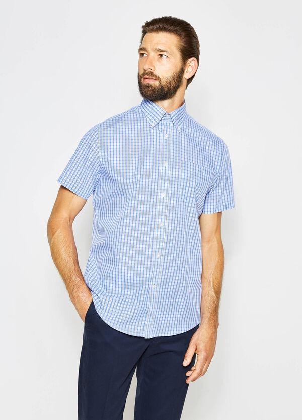 Regular-fit formal tartan shirt | OVS