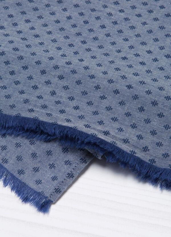 Sciarpa puro cotone sfrangiata | OVS