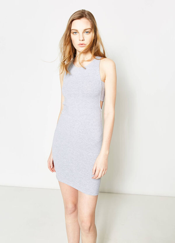 Stretch cotton tube dress | OVS