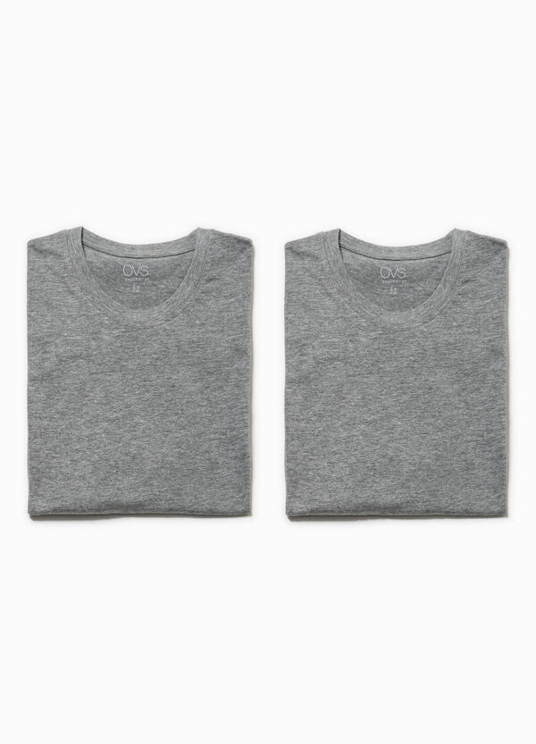 Set due t-shirt intime in puro cotone | OVS