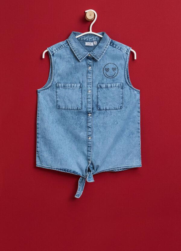 Camicia di jeans smanicata | OVS