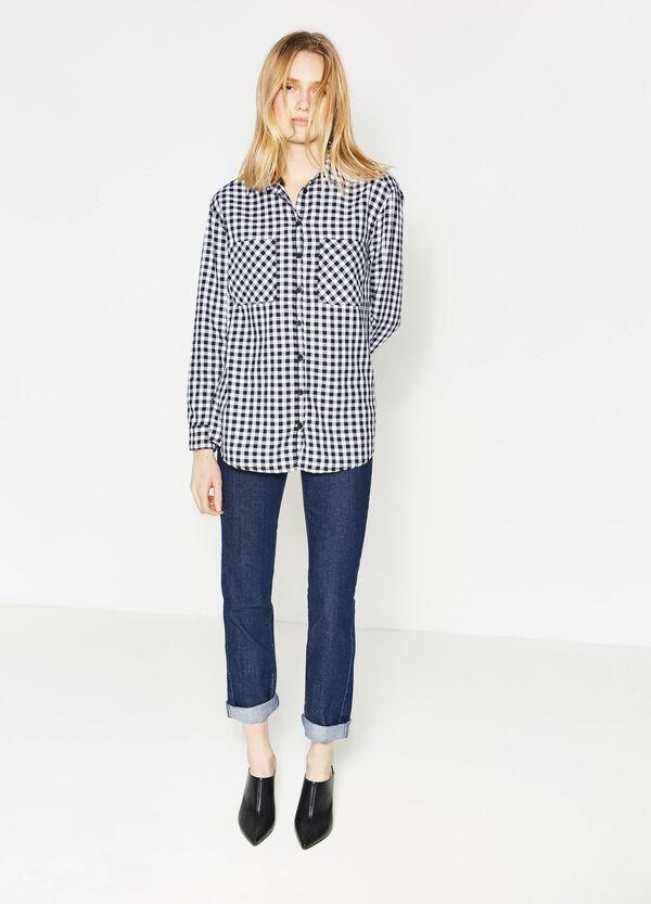 Jeans stretch cuciture a contrasto | OVS