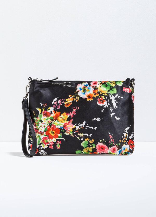 Bolso bandolera con estampado floral | OVS