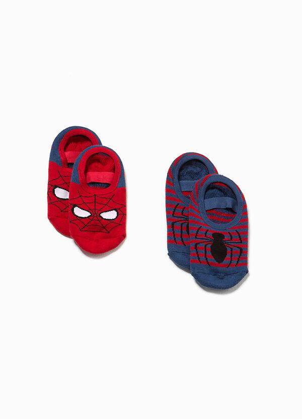 Set due paia di calze antiscivolo Spiderman | OVS