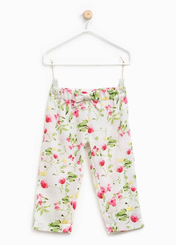 Pantaloni fantasia floreale | OVS