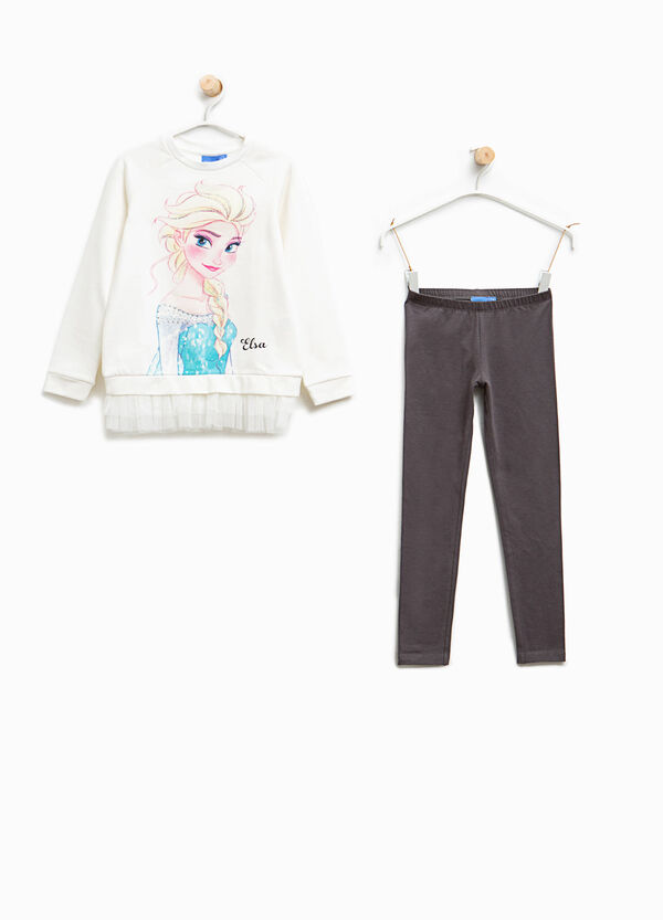 Cotton tracksuit with Frozen print | OVS
