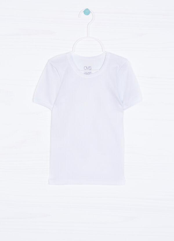 T-shirt intima puro cotone tinta unita | OVS