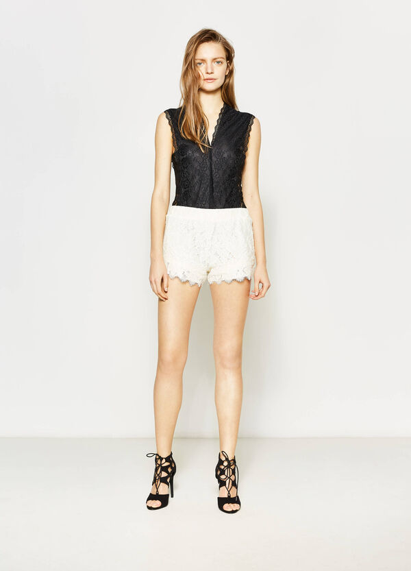 Shorts in pizzo | OVS