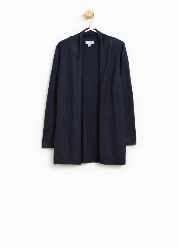 Viscose cardigan with shawl neck   OVS