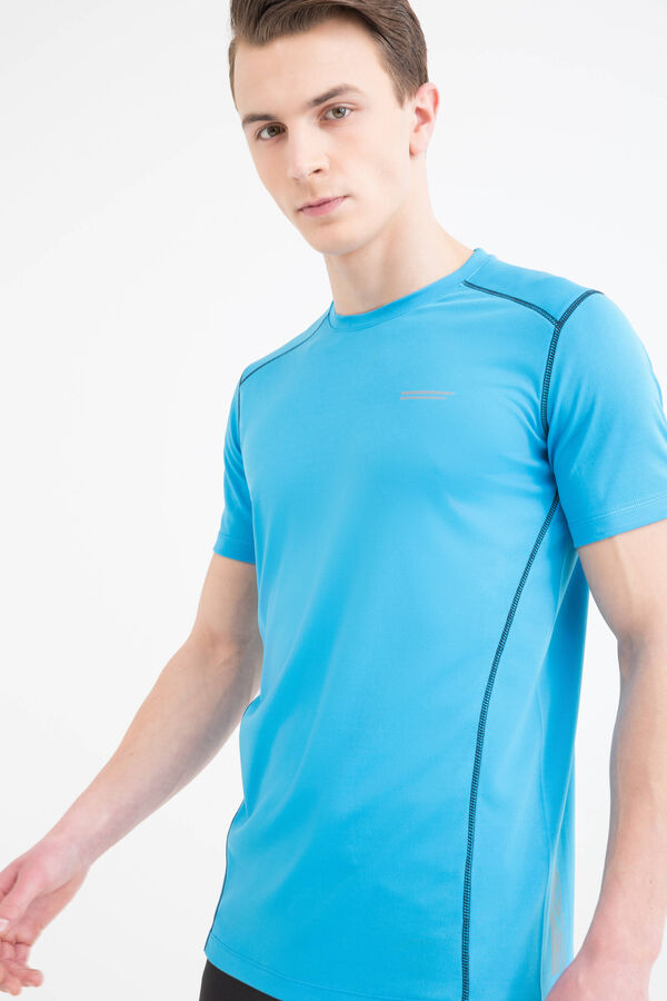 T-shirt sportiva cuciture a contrasto   OVS