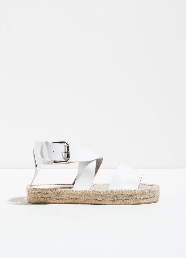 Sandali con suola intrecciata | OVS