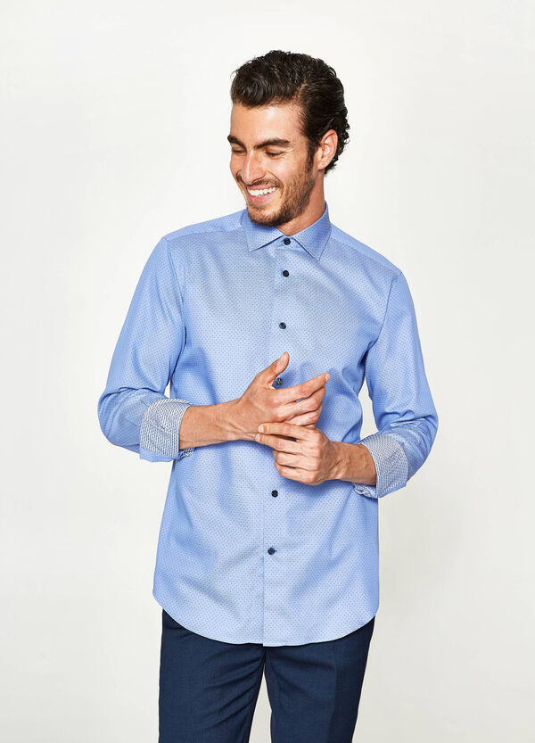 Camicia formale slim fit a pois | OVS