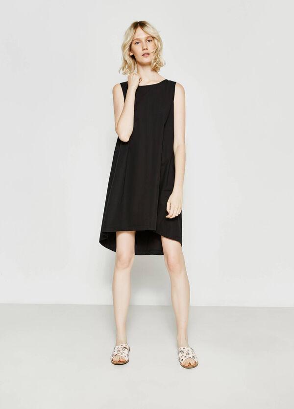 Sleeveless cotton dress | OVS