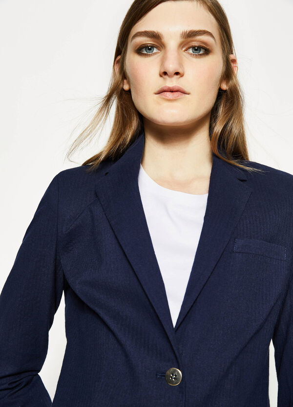 Two-button blazer with lapels | OVS