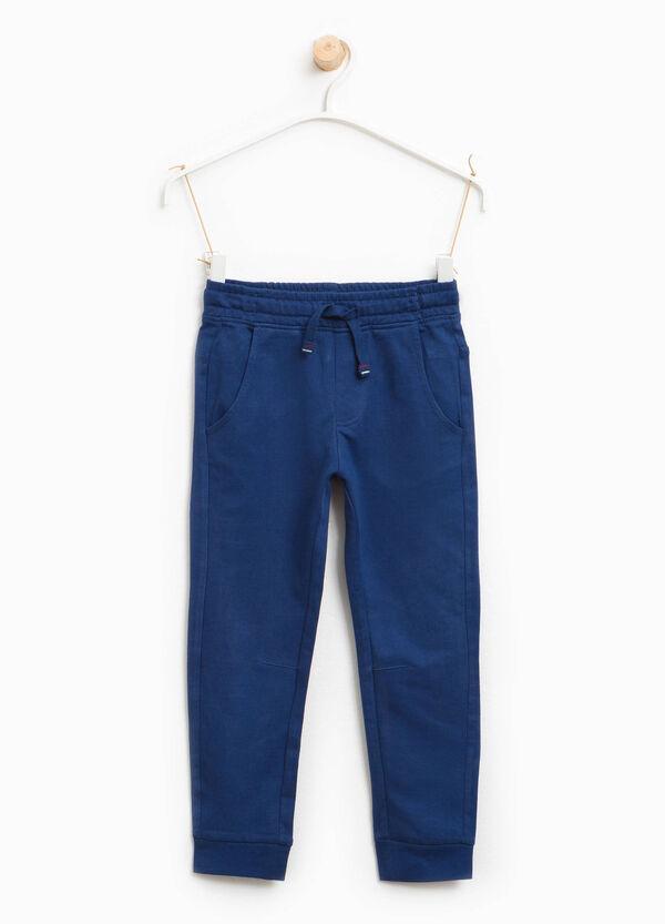 Pantaloni tuta in puro cotone | OVS